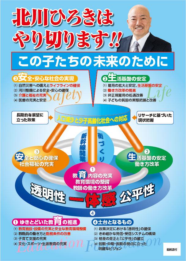 福井県議会議員選挙が告示されました!